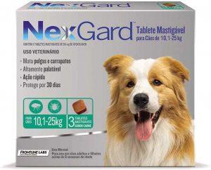 Carrapato de Cachorro NexGard Elimina Rápido