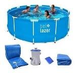 piscina de plástico grande bel-lazer tudo 2