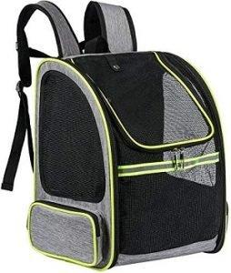 mochila para transportar gatos