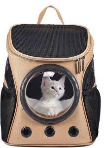 Mochila Para Transportar Gatos happy