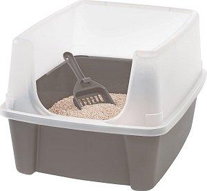 caixa de areia para gatos Iris Ohyama