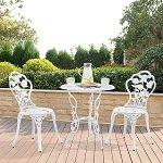mesa e cadeiras jardim ferro
