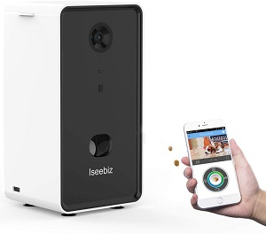 Câmera interativa barata para cães e gatos-Iseebiz