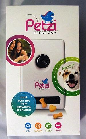 Câmera para cães e gatos com áudio unilateral-Petzi